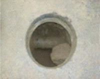 "18"" Diameter Core Hole"