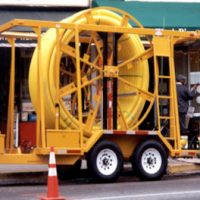 """PLCS 2""""-6"""" Large Coil Pipe Trailer"""