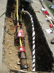 Typical Entry Excavation with By-Pass