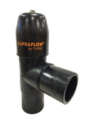 2) Supraflow tee