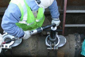 Drill head baystate