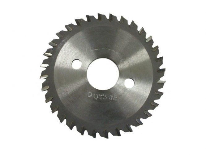 Keel Cutter Steel Blade