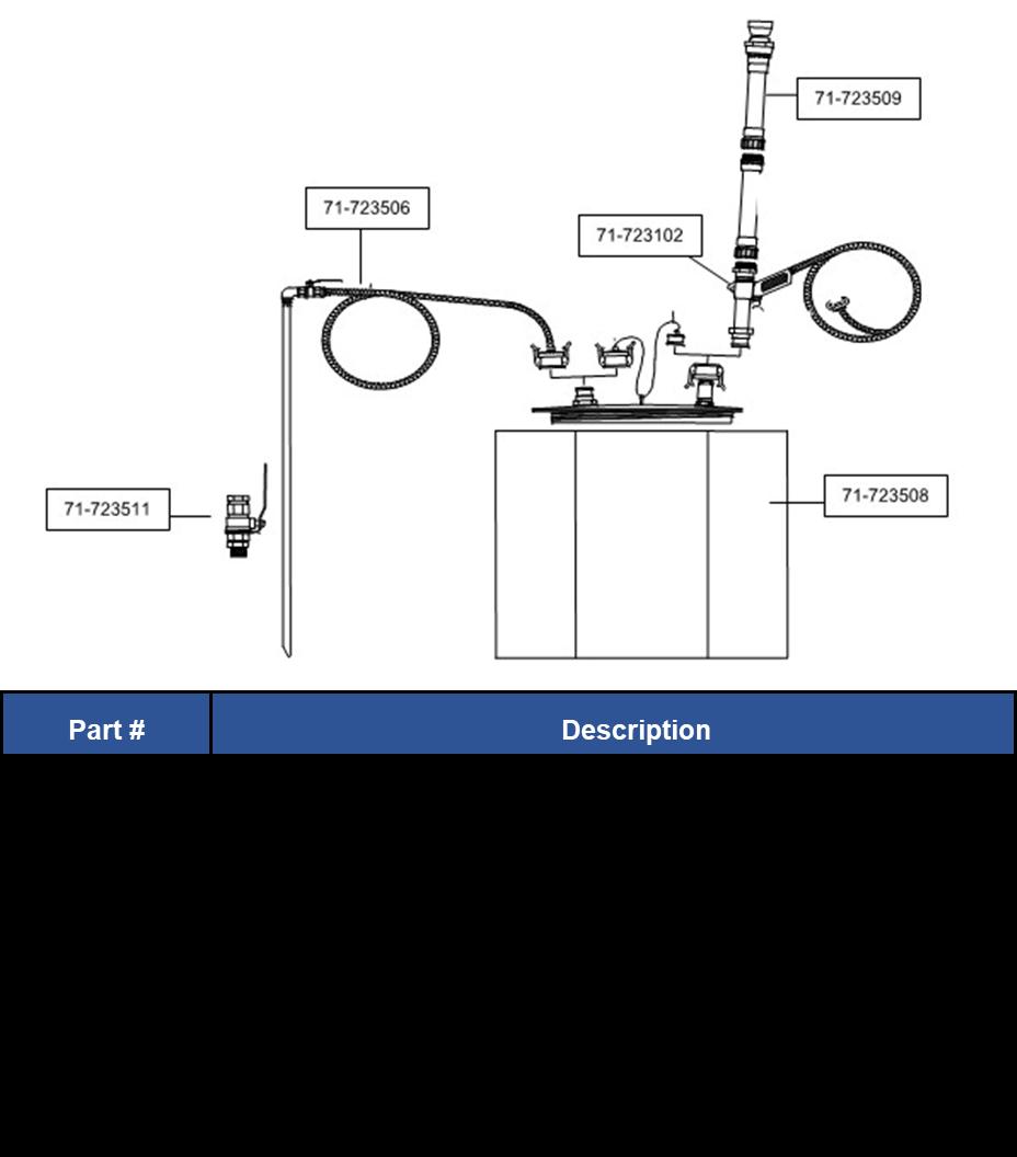 Gas Vac Mains Parts