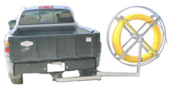 Hitch Mount - Coil swings out of the way for tailgate access.