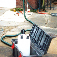 Gas Service Water Remover