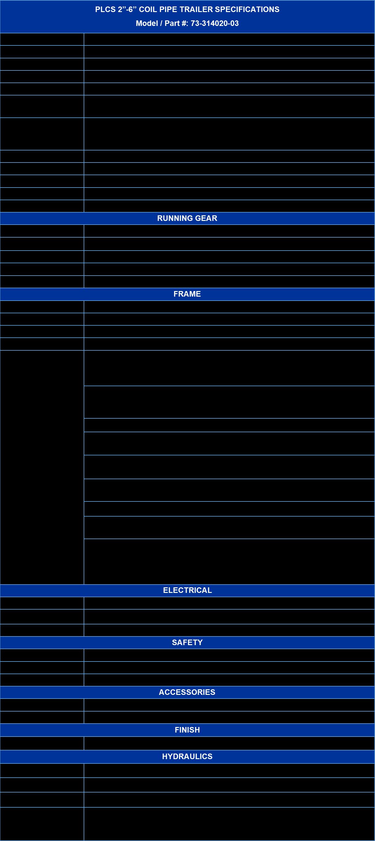 PLCS Trailer Spec Sheet